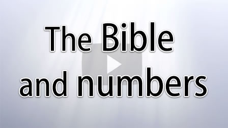 The Bible and Numbers